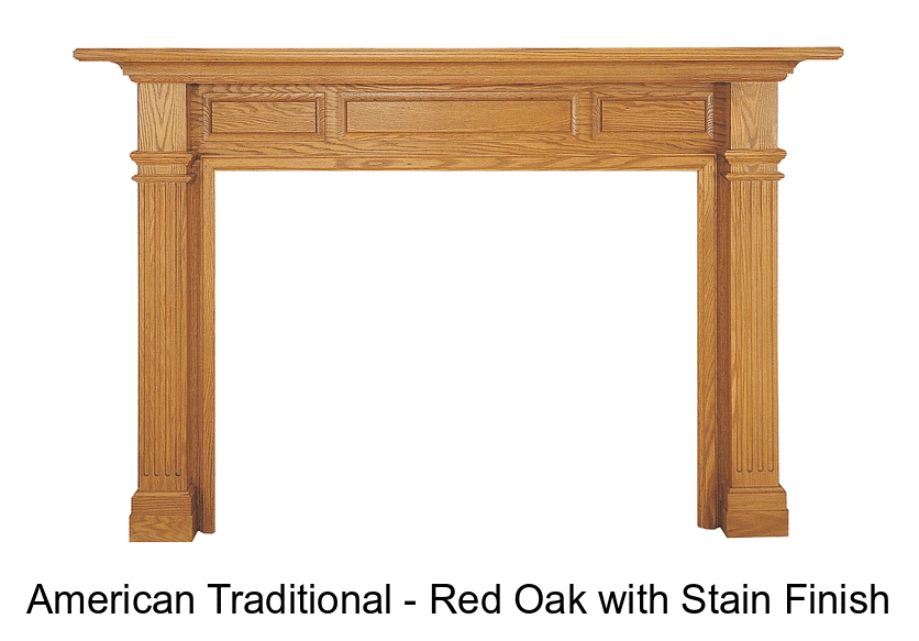American Traditional Mantel Surround