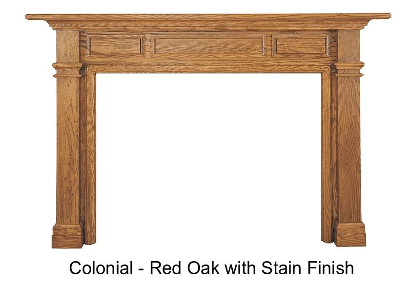 Colonial Mantel Surround
