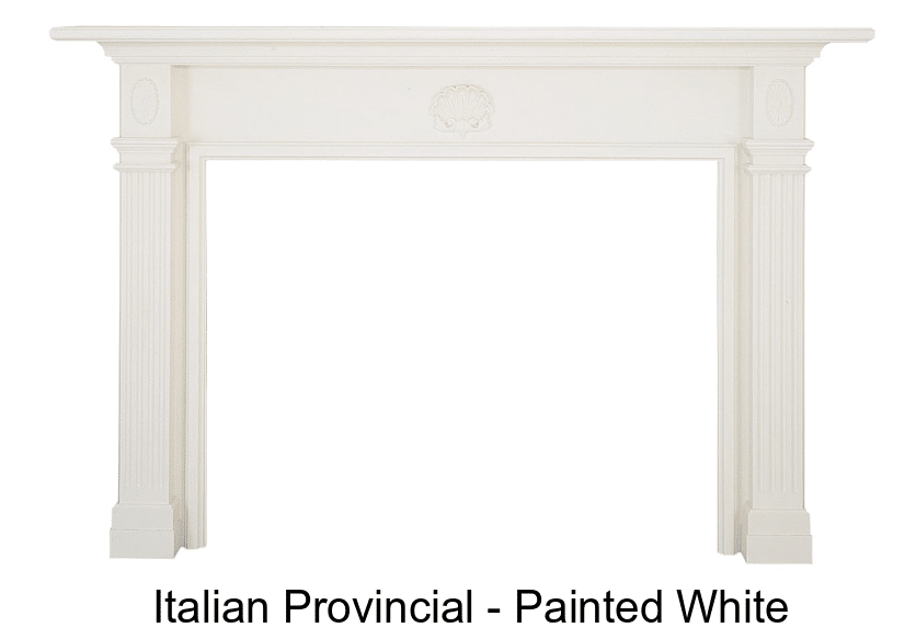 Italian Provincial Mantel Surround